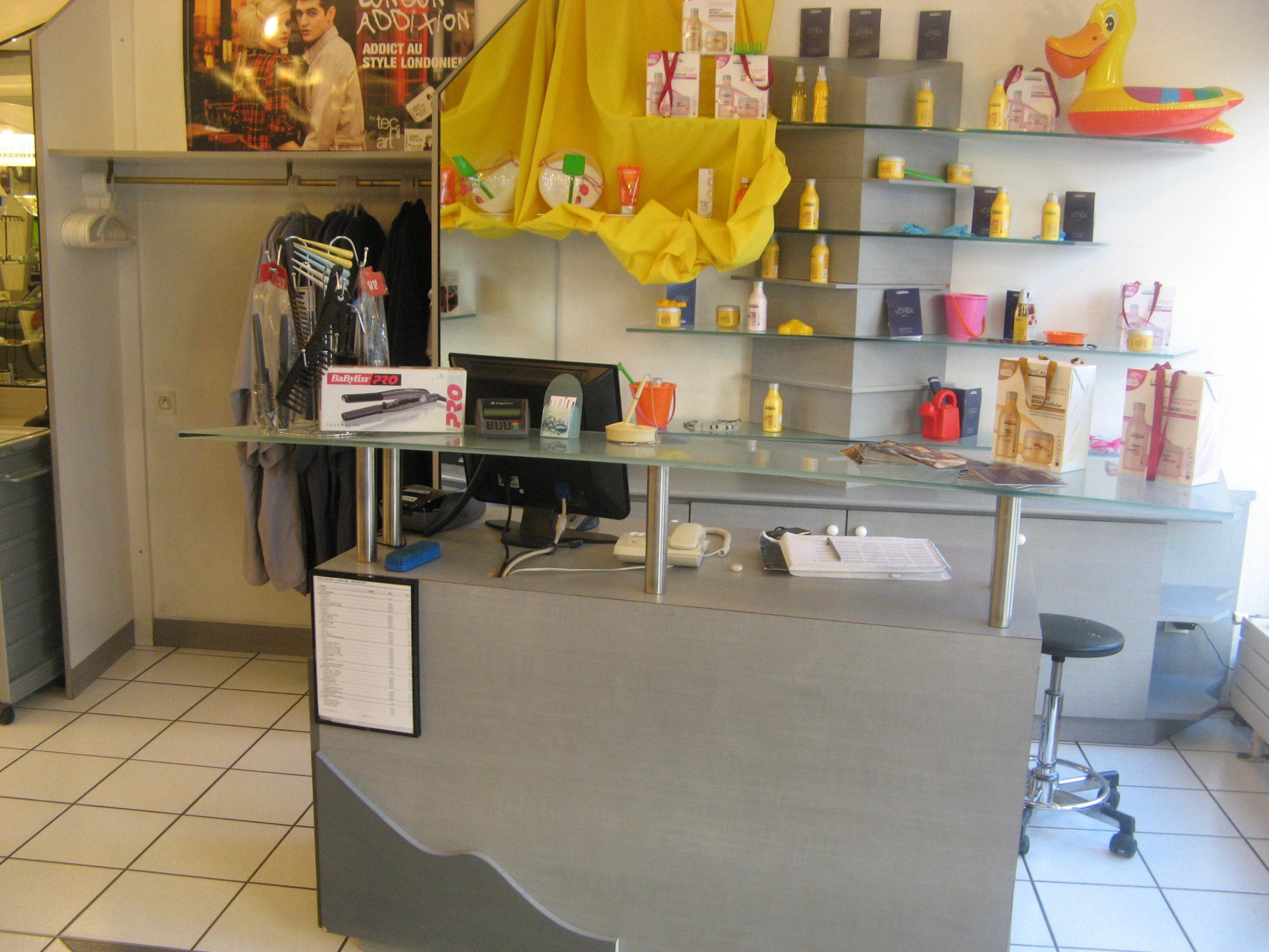 Comptoir de caisse du Salon By Céline